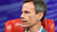 Walt Disney Parks and Resorts Chairman Tom Staggs used the high-profile stage of the All Things Digital technology conference to show off the entertainment giant's entry into the world of wearable computing -- the Disney MagicBand.
