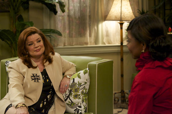 """Renee Lawless, left, in """"The Haves and the Have Nots."""""""