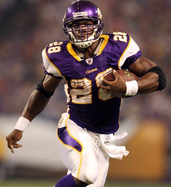 Minnesota Vikings running back Adrian Peterson shared his feelings about same-sex marriage in a recent interview.