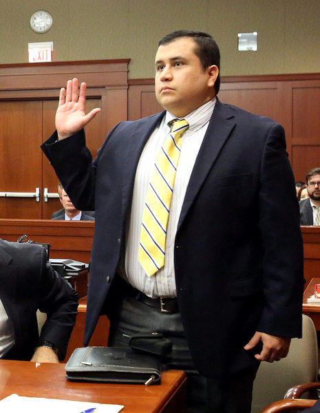 George Zimmerman, defendant in the killing of Trayvon Martin, appeared in April in Seminole circuit court in Sanford, Fla