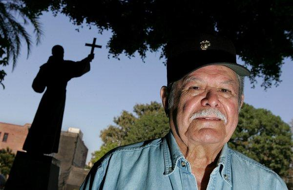 Bill Lansford was a successful writer and a major force behind efforts to construct a monument for Latino recipients of the Medal of Honor.