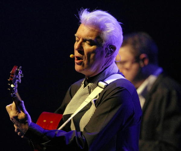 David Byrne & St. Vincent play Ravinia Festival on July 6.