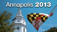 Washington County's legislative delegation in Annapolis will shrink from eight to six after the 2014 elections to reflect redrawn legislative districts based on the 2010 census.