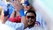 Dioner Navarro was asked if fans ever had beckoned him for a curtain call after an exceptional performance.