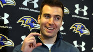 Joe Flacco got a taste this week of how it'll be all season long.