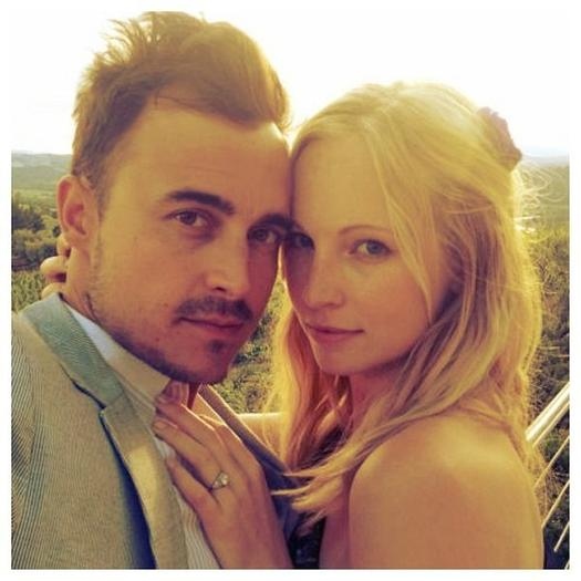 'Vampire Diaries' actress Candice Accola engaged