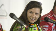 LONG POND — Danica Patrick finally made it to Pocono Raceway on Wednesday. As first impressions go, this one was positive.