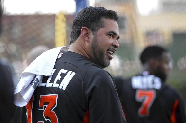 Ozzie Guillen, then-manager of the Miami Marlins, returned to Chicago last year for a series against the Cubs.