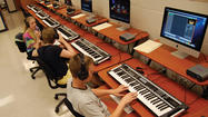 A newly installed music technology lab at Waynesboro Area Senior High School is allowing students to make music in nontraditional ways.