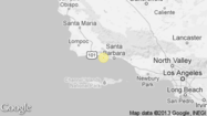 A shallow magnitude 3.2 earthquake was reported Wednesday evening three miles from Isla Vista, Calif., according to the U.S. Geological Survey. The temblor occurred at 8:19 p.m. Pacific time at a depth of 6.2 miles.