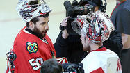 Game 7 photos: Hawks 2, Red Wings 1 (OT)