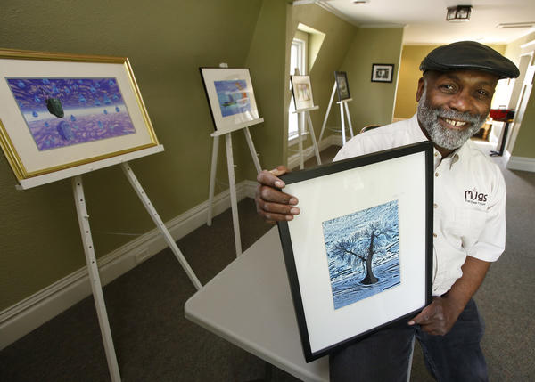 Lawrence Diggs will be the first artist to exhibit his work in the upstairs gallery at Mugs the Coffee House.