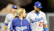 Matt Kemp's nightmare season took another unfortunate turn Wednesday night, as the slumping center fielder strained his right hamstring in the Dodgers' 4-3 defeat to the Angels at Angel Stadium.