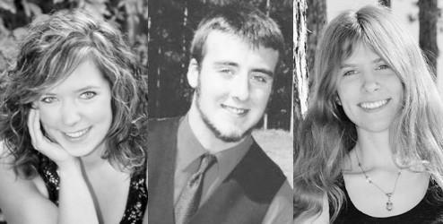 East Jordan High School class of 2013 top students are (from left) valedictorian Casey Keane, co-salutatorian Josh Johnston and co-salutatorian Jacqueline Radtke.