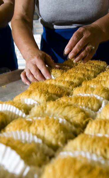Greek pastries are a popular draw at this weekend's Newport News Greek Festival at Saints Constantine and Helen Greek Orthodox Church in Newport News.
