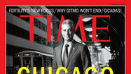 Mayor Rahm Emanuel on Time cover