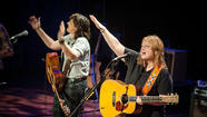 Amy Ray and Emily Saliers, the folk rock duo Indigo Girls, will perform with the Virginia Symphony Orchestra on Friday night at Chrysler Hall in Norfolk.