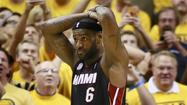 Miami's LeBron James and Indiana's David West and Lance Stephenson have each been fined $5,000 for flopping in Game 4 of the Heat-Pacers series.