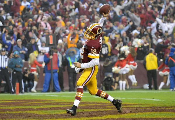 Kirk Cousins is slated as the Washington Redskins' starting quarterback until Robert Griffin III returns from off-season knee surgery.