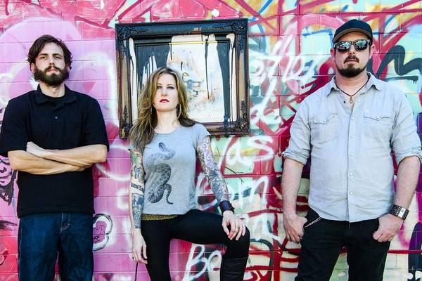 Kylesa (Left to right: Carl McGinley, Laura Pleasants, Phillip Cope).