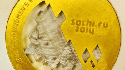 Sochi 2014 Winter Games medals unveiled