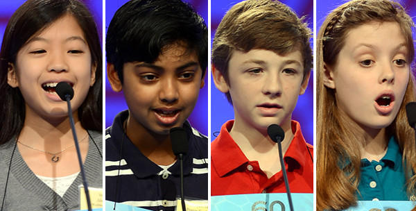 Alia Abiad, from left, Pranav Sivakumar, Lucas Urbanski and Piper Winkler.