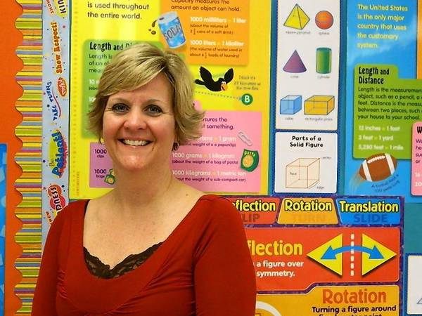 Indian Trail Middle School math teacher Michell Schade is one of 28 teachers across the country drafting curriculum to help educators teach new standards that will soon roll out across most states.