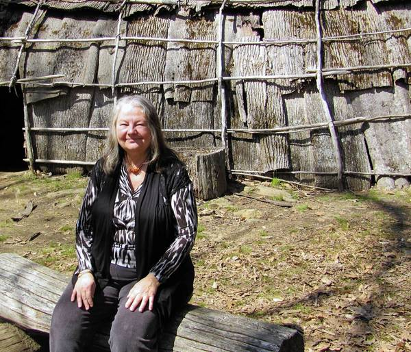 Lucianne Lavin, director of research and collections at the Institute for American Studies, tells the story of Connecticut's earliest peoples in her new book.