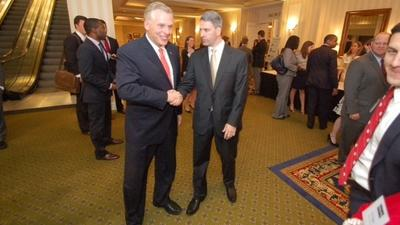 Leading candidates for Virginia governor speak at fundraiser in Richmond