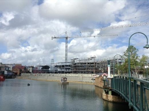 Expansion at the Wizarding World of Harry Potter at Universal Orlando. The attraction is scheduled to open in 2014.