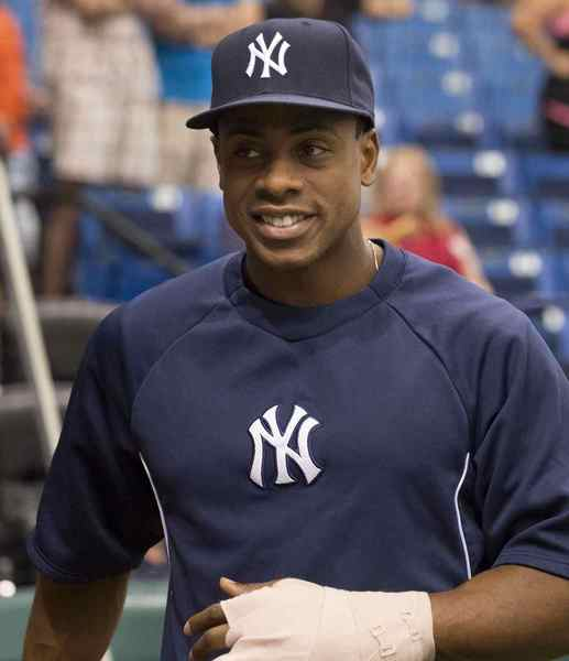 New York Yankees' Curtis Granderson.