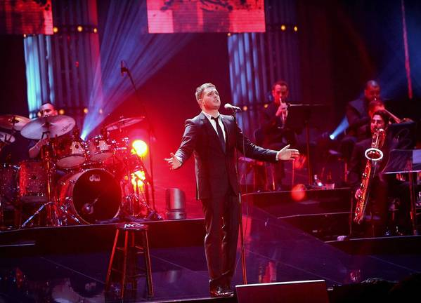 Michael Buble will perform Oct. 30 at Amway Center in Orlando.