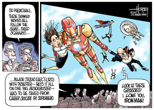 Summer Blockbusters by David Horsey