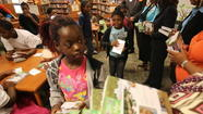 Magic Treehouse author, Orlando Shakespeare Theater give away books