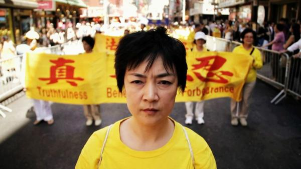"""Jennifer Zeng in the movie """"Free China: The Courage to Believe."""""""