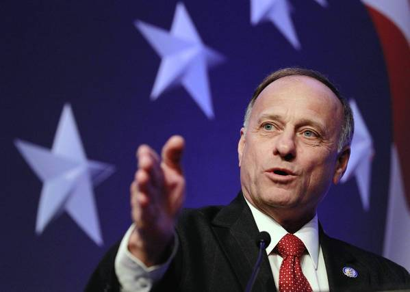 Rep. Steve King (R-Iowa) is part of a sizable but increasingly muted conservative coalition opposing the current effort to revamp the immigration system.