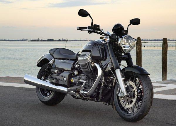 Moto Guzzi's California 1400 Custom is a head-turning cruiser.
