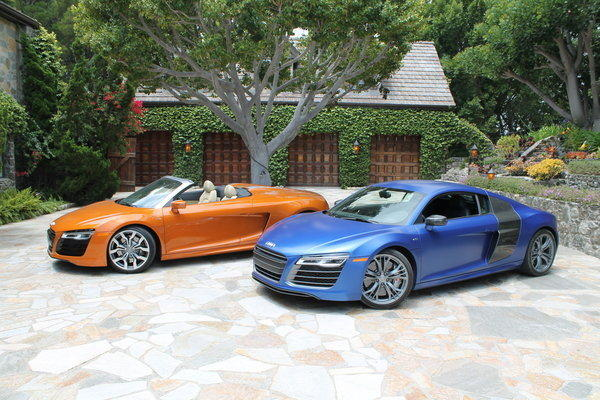 Rapid Review Audis R Lineup Gets A Refresh Latimes - Audi car lineup