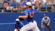 Florida pitcher Jonathon Crawford doesn't care about the Gators' record.
