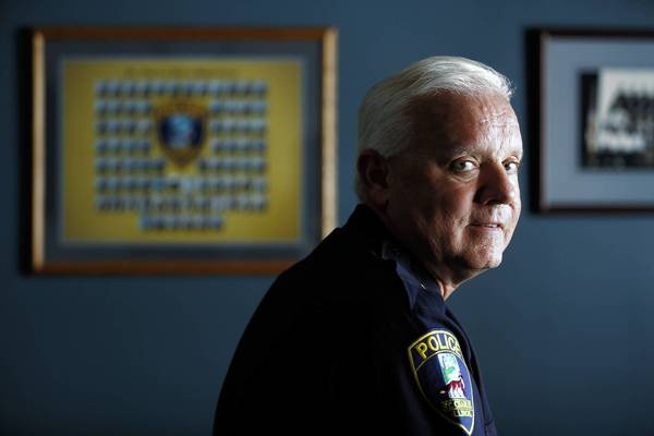 "St. Charles police Chief James Lamkin said the city's plan to sell about 20 weapons will raise money for his department. ""They're not illegal guns,"" he said. ""Quite honestly, it's a bottom line for us."""