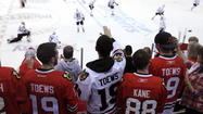 As a sportswriter I have to differentiate fan from journalist almost on a daily basis. But after watching the last three Blackhawks games, the fan has come out of me by force of nature.