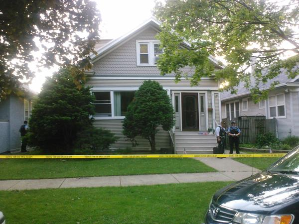 Scene of a shooting investigation in Oak Park.