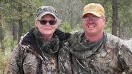 Berdette Zastrow and wild turkey guide John ¿G-Man¿ Geiman