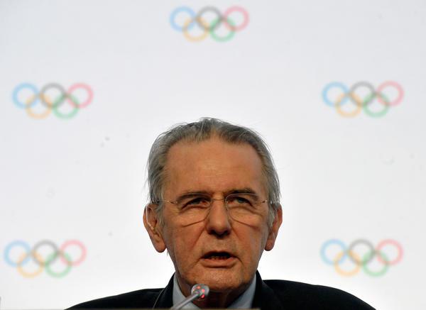 IOC President Jacques Rogge.