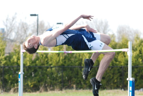 Petoskey senior Louis Lamberti is the defending Division II state champion in high jump and is the top-seeded jumper for Saturday, June 1, at the Division II state finals at Forest Hills Eastern High School
