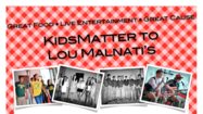 On Monday, June 24, Lou Malnati's will be celebrating the youth of Naperville by generously donating 20% of their sales (both restaurant and take-out) to support KidsMatter's goal of reducing at-risk behaviors by helping kids stress less.