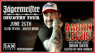 Aaron Lewis at Club Fever!