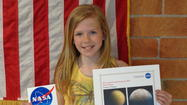 Emma O'Hagan, a fifth grade student at Chelsea Intermediate School, was recently named a semi-finalist in an essay contest sponsored by the National Aeronautics and Space Administration (NASA.)