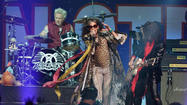 Aerosmith at Boston Strong benefit concert