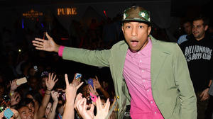 "Pharrell riding high again with success of Daft Punk's ""Get Lucky"""